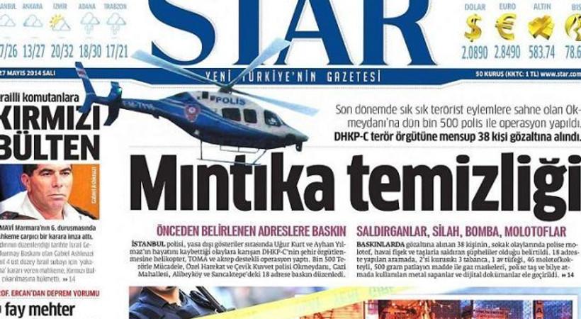 Star, 2 gazeteyi geçmişiyle vurdu!