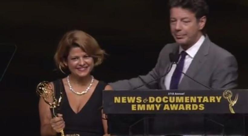Emmy'de belgesel ödülünü kazananlar arasında Türkiye'den Zeynep Erdim de var