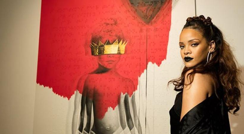 Rihanna'nin yeni albümü ANTI yayında