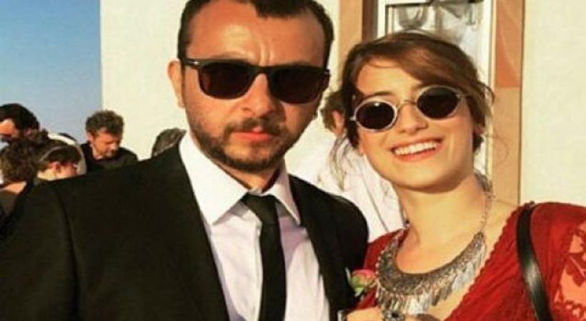 Hazal Kaya sevgilisi Ali Atay'la poz verdi