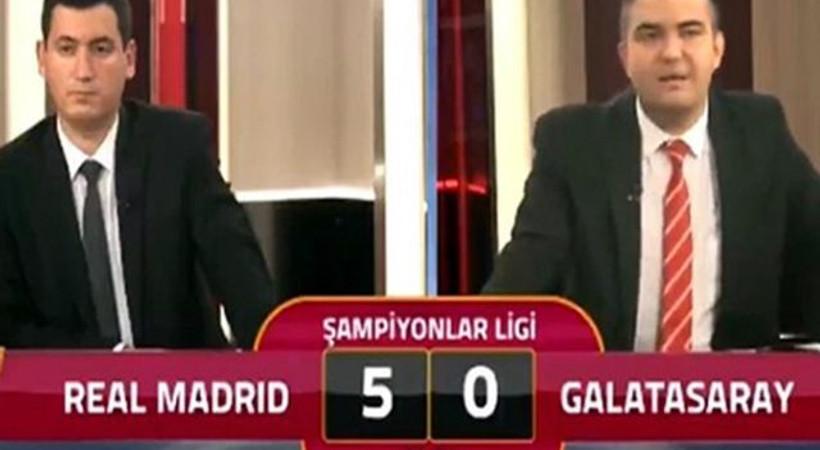 Galatasaray TV'de ilginç anlar: '5'e razıydık'