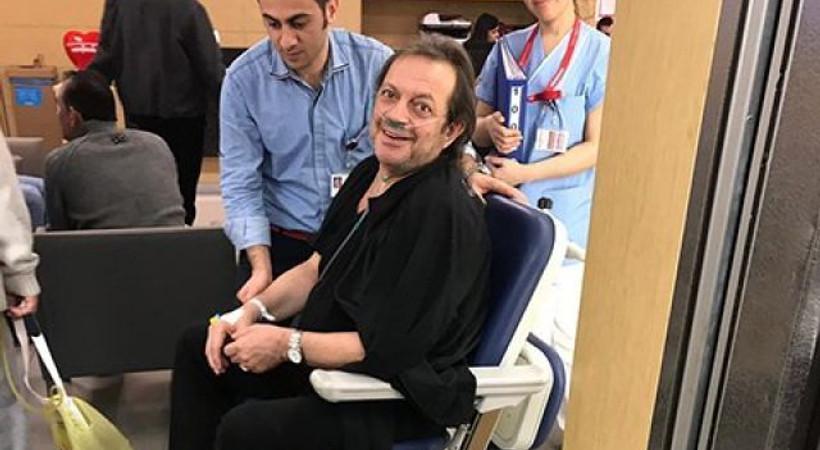 Oyuncu Recep Aktuğ hastaneye kaldırıldı!