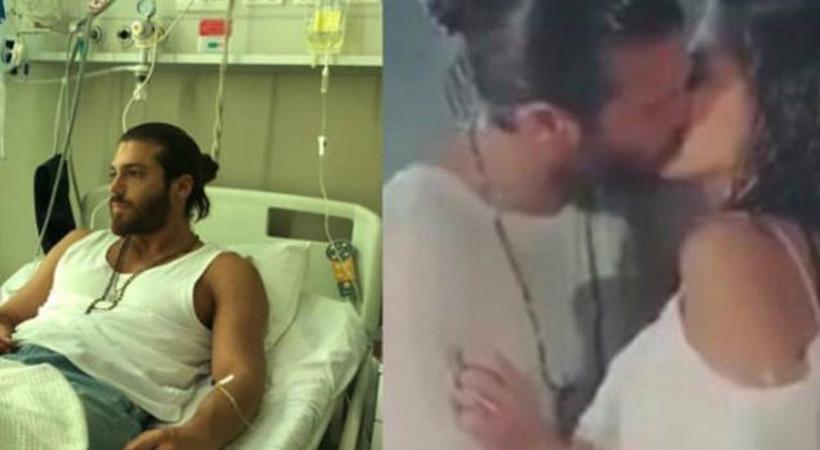 Öpüşme sahneleri Can Yaman'ı hastanelik etti!