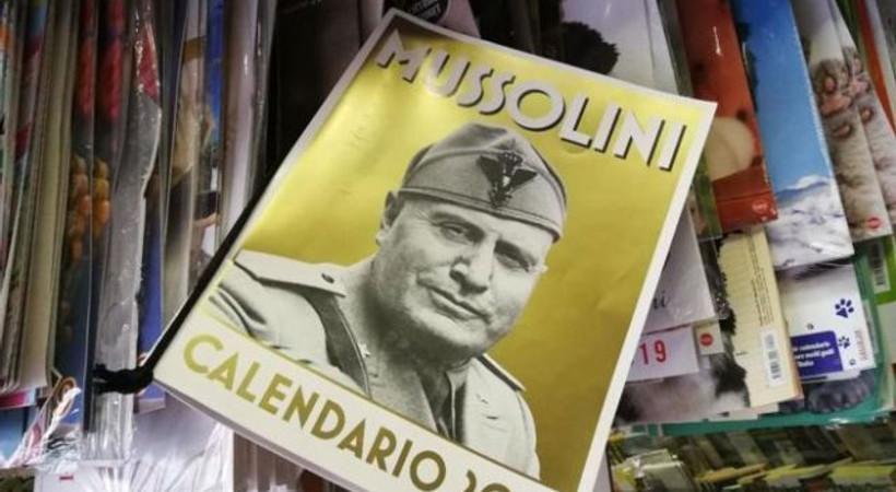 İtalya 2019'a Mussolini takvimleriyle giriyor!