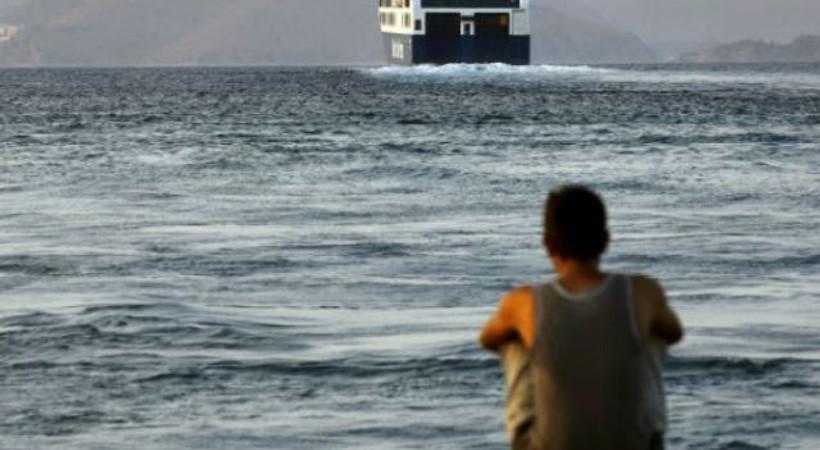 Times: Suriyeli mülteci, Türkiye'den Yunan adalarına yüzerek geçti