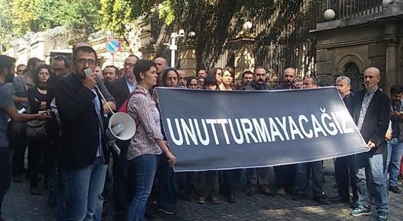 Basın ve yayınevi çalışanları: Öfkeliyiz, yastayız, isyandayız!