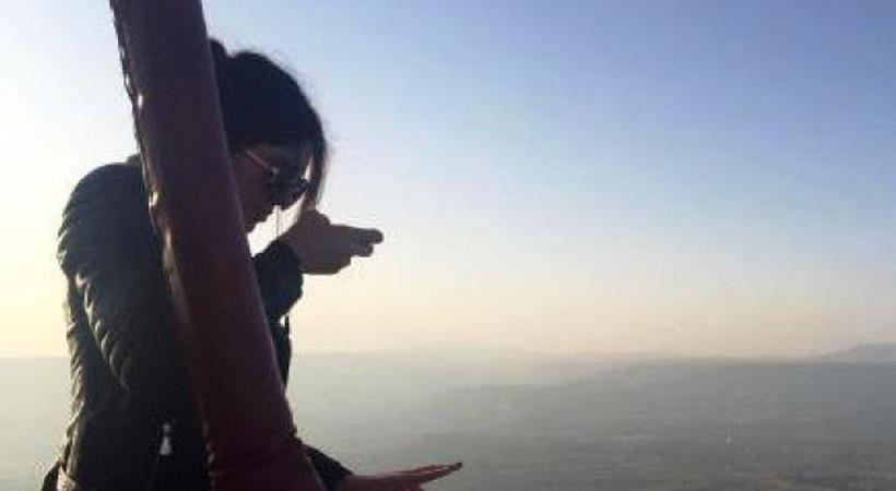 Kendall Jenner'dan Kapadokya selfie'si