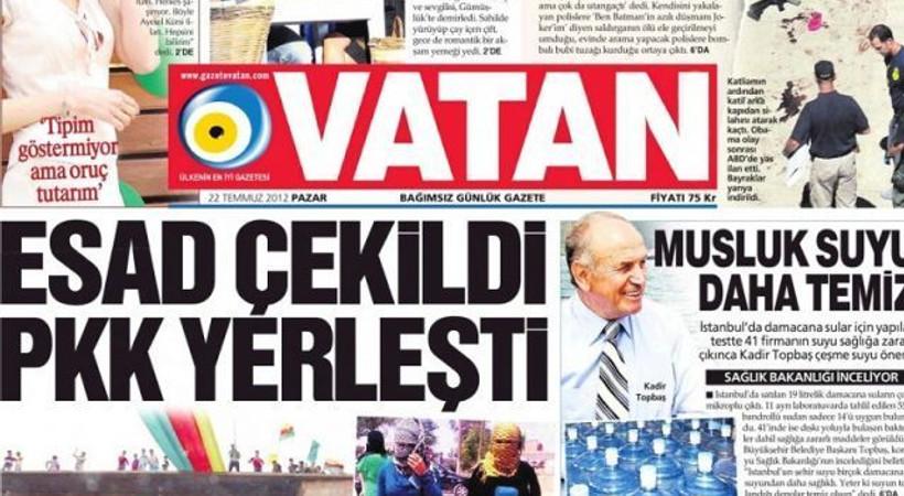 Vatan'ın büro kapatma kararını kınadılar!
