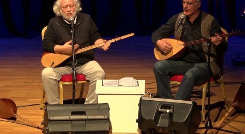 Türk Halk Müziği'nin iki duayeni Anadolu yollarında