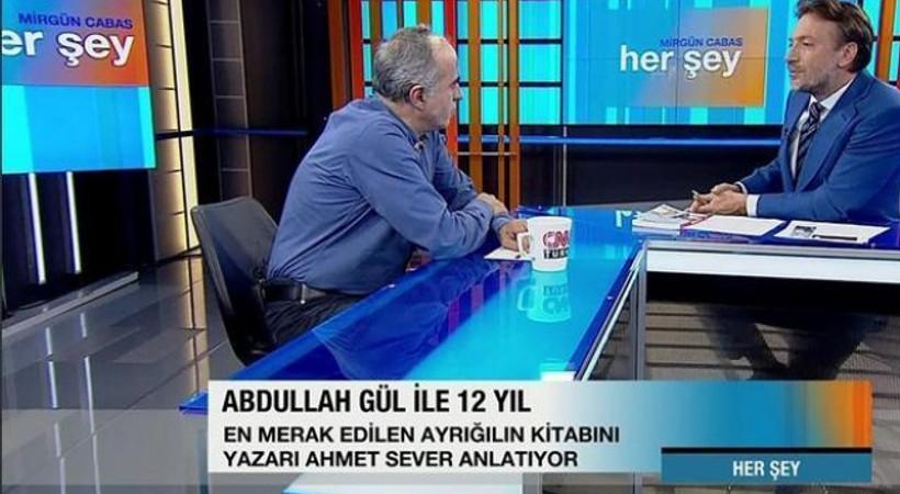 'Abdullah Gül ile 12 yıl' kitabının yazarı konuştu