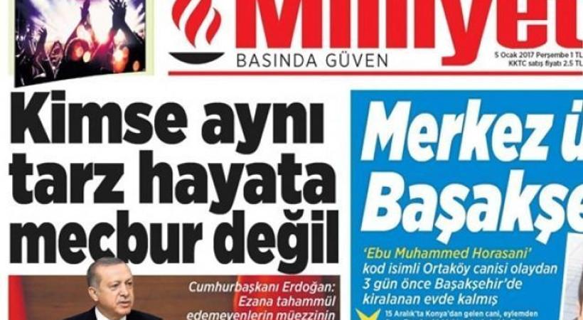 Milliyet Kıbrıs'ta tirajlarını uçurdu!