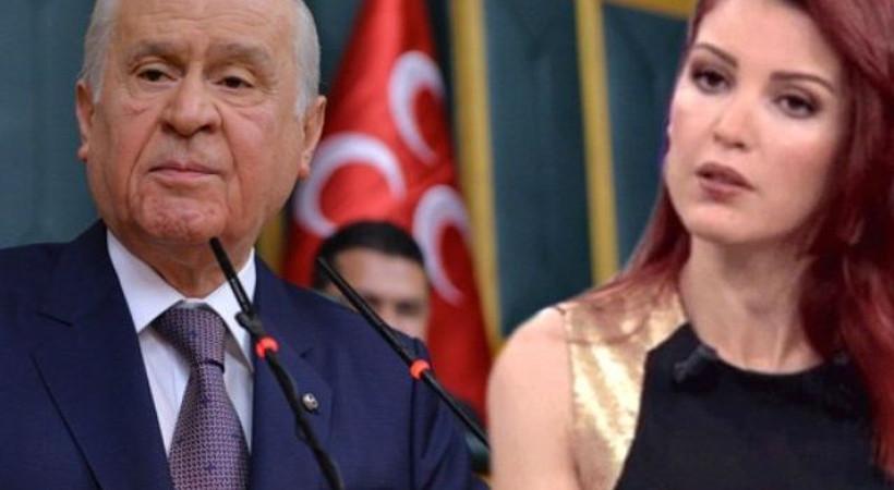 Devlet Bahçeli'den Nagehan Alçı'ya çok sert sözler!
