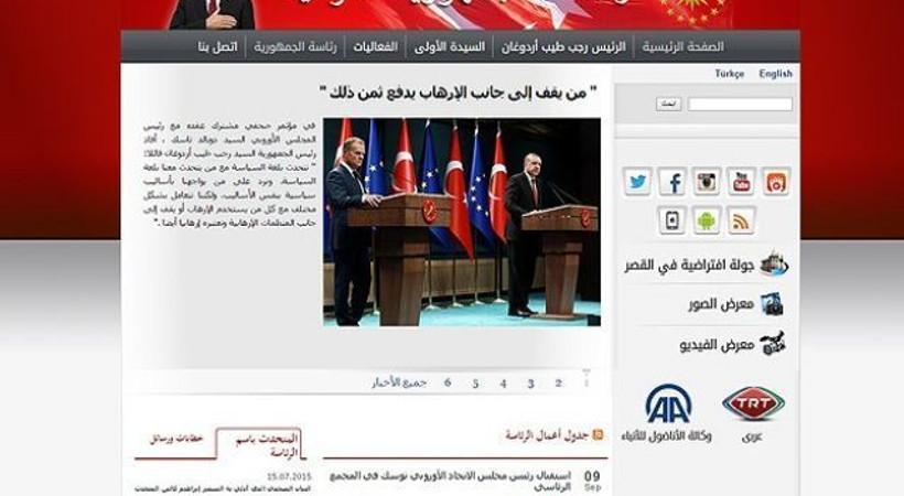 Cumhurbaşkanlığı'ndan Arapça yayın hamlesi!