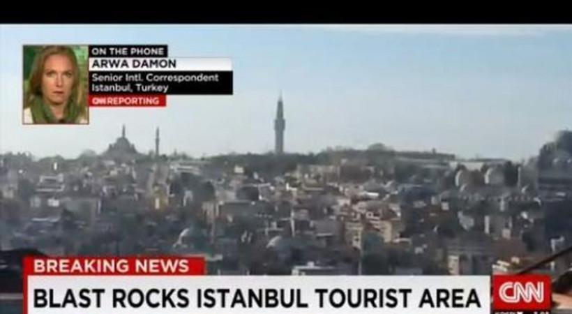 Dünya Sultanahmet'teki patlamayı böyle gördü