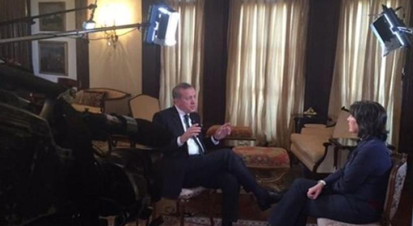 Erdoğan, CNN İnternational'a konuştu