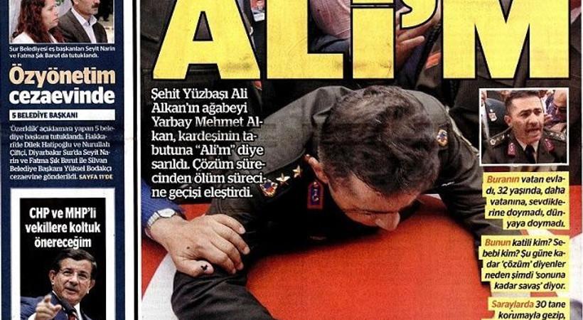 Yarbay Mehmet Alkan'ın isyanını hangi gazeteler görmedi?