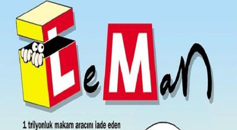 LeMan'ın kapağında Cem Yılmaz'a meydan okudu!