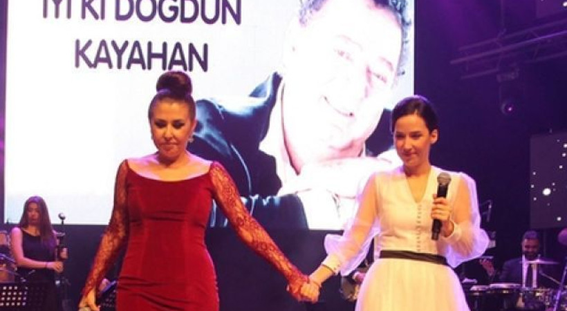Eşiyle kızı, Kayahan'ın yaş gününü ayrı ayrı kutladı!