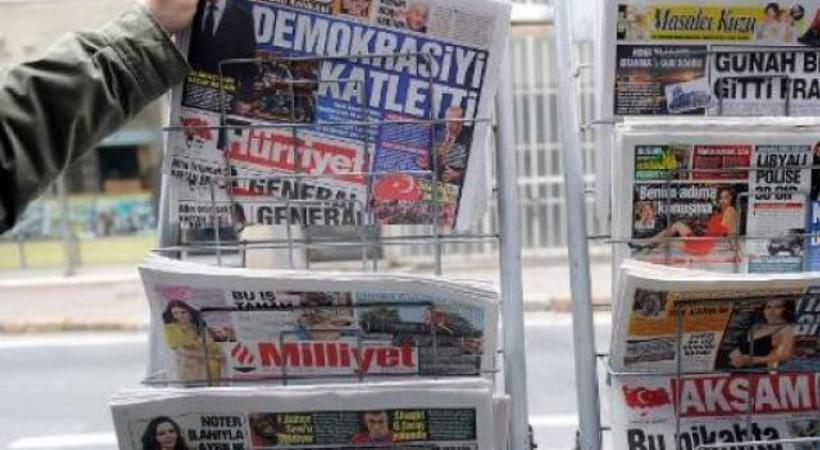 Gazetelerde ağır kayıplar! Peki en yüksek düşüş hangilerinde oldu?