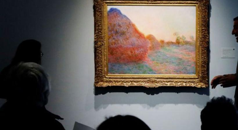 Fransız ressam Monet'nin 'saman yığınları' rekorları kırdı