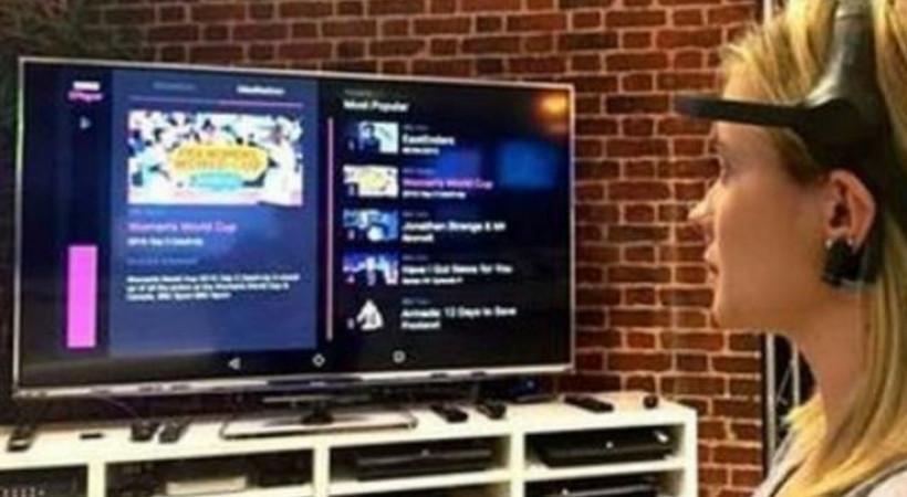 Beyin dalgalarıyla çalışan TV kumandası!