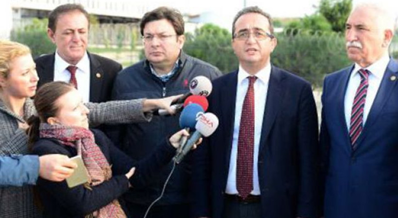 CHP heyetinden Silivri'deki gazetecilere ziyaret