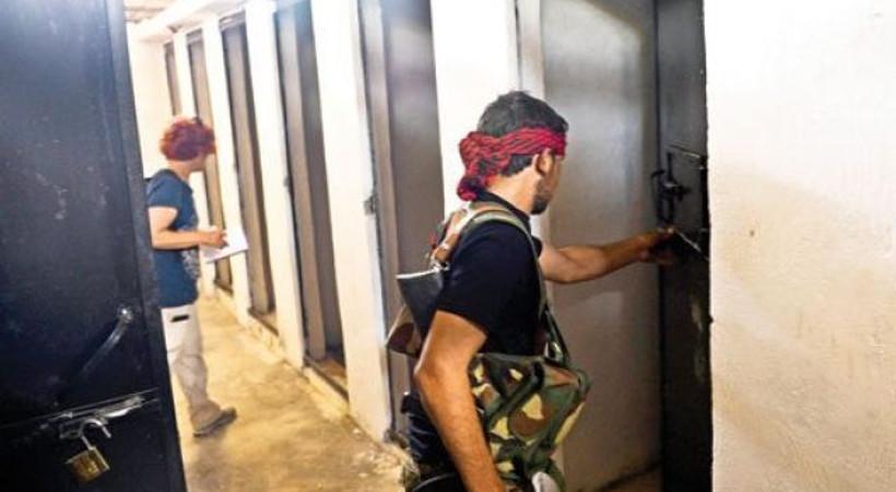 Hürriyet muhabirleri IŞID'in ölüm hücrelerine girdi