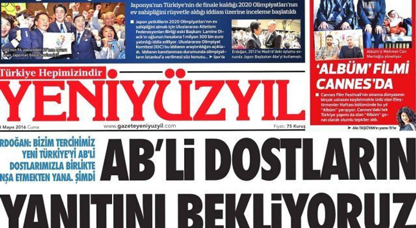 Yeni Yüzyıl gazetesinde deprem! Gazetenin tepe yöneticisi görevi bıraktı!