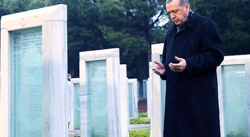 Erdoğan hem şiir okudu hem rol aldı! İşte, o film!