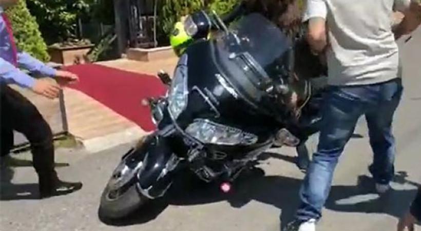 Hollywood yıldızı İstanbul'da kaza geçirdi!