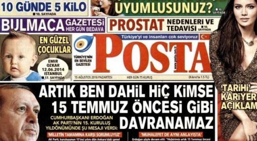 Habertürk'ün hangi köşe yazarı Posta'ya transfer oldu?