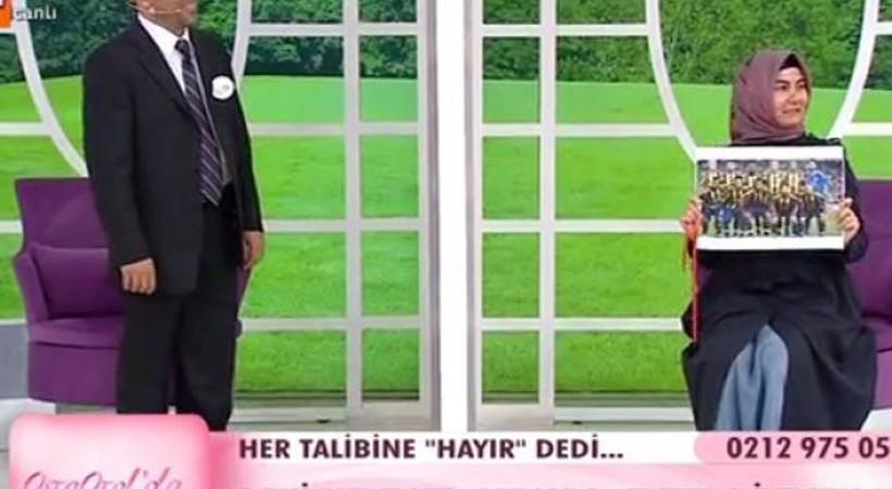 Koyu Fenerbahçeli gelin evlendirme programında Aziz Yıldırım'a seslendi