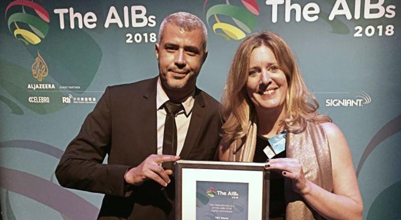 TRT World Belgeseli Off the Grid'e bir ödül daha!