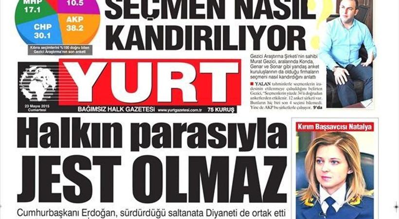 Yurt gazetesine yeni yazarlar!