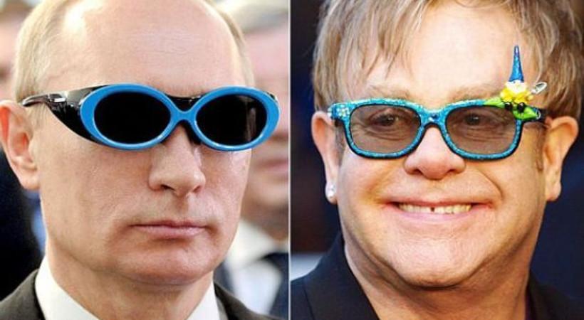 Şaka gerçek oldu... Putin, Elton John'u aradı