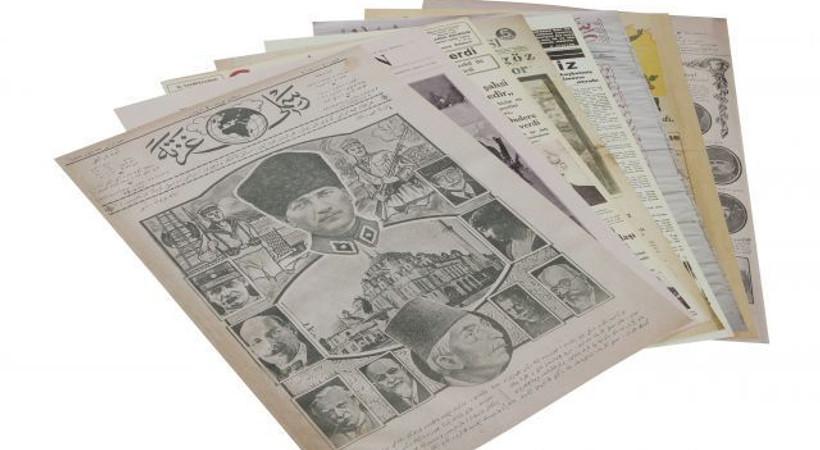 Basında Atatürk! Gün yüzüne çıktı