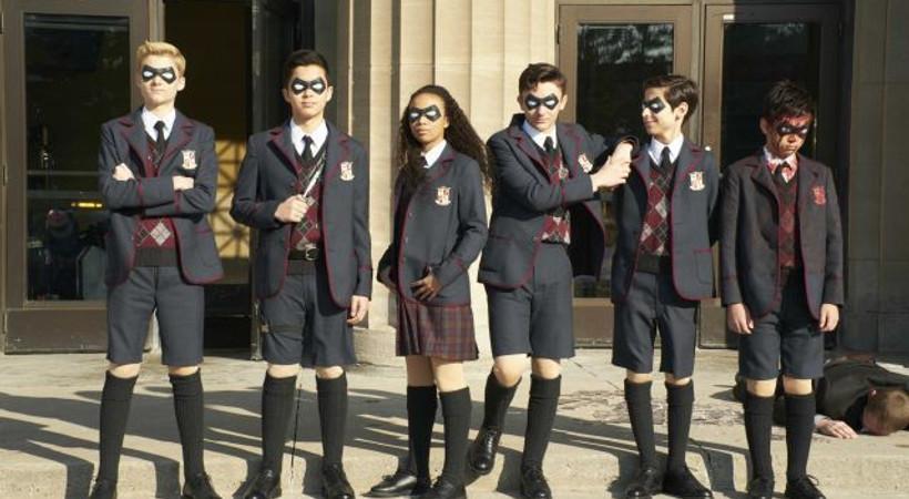 Netflix, yeni dizisi The Umbrella Academy'nin fragmanını paylaştı!