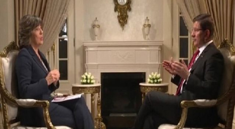 Davutoğlu, CNN'den Amanpour'a konuştu: 'Basın özgürlüğü benim için... '