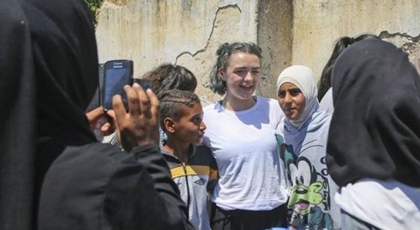 Game of Thrones oyuncularından Suriyeli mültecilere ziyaret