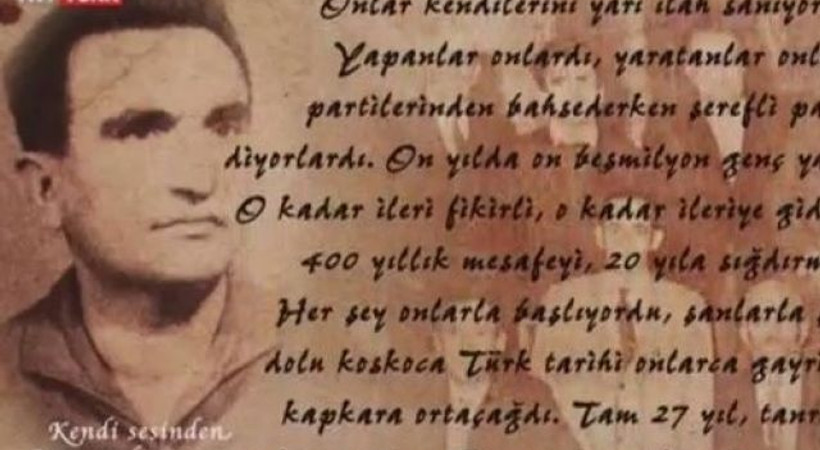 TRT ekranlarında Atatürk'e şok hakaret!