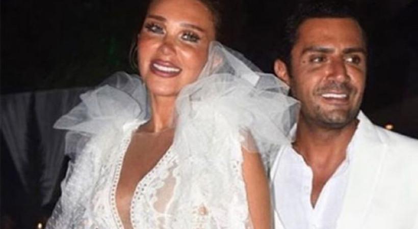 Seren Serengil ve Yaşar İpek Bodrum'da düğün yaptı