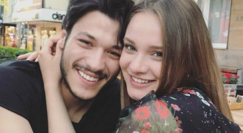 Kubilay Aka ve Miray Daner'den romantik mesajlar