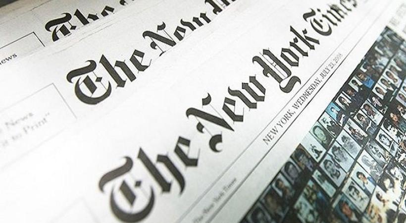 'Türkiye üzerindeki kara bulutlar' New York Times sayfalarında