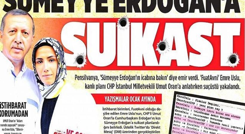 Sümeyye Erdoğan'a suikast 'belge'leriyle ilgili skandal gerçek ortaya çıktı!