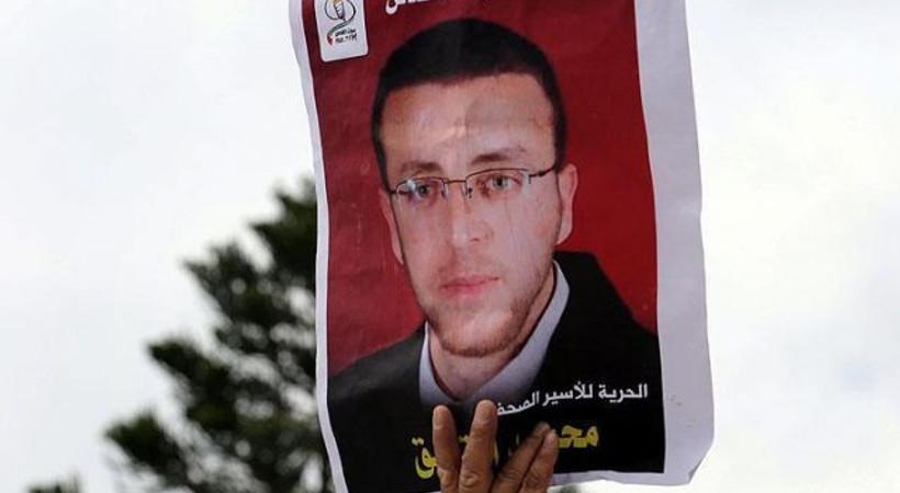 Açlık grevindeki Filistinli gazetecinin grevini sonlandıran anlaşma imzalandı