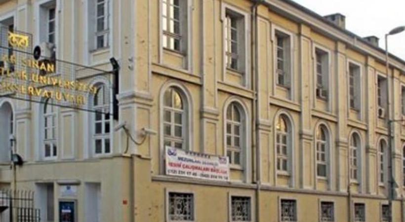 Mimar Sinan Güzel Sanatlar'da tahliye!