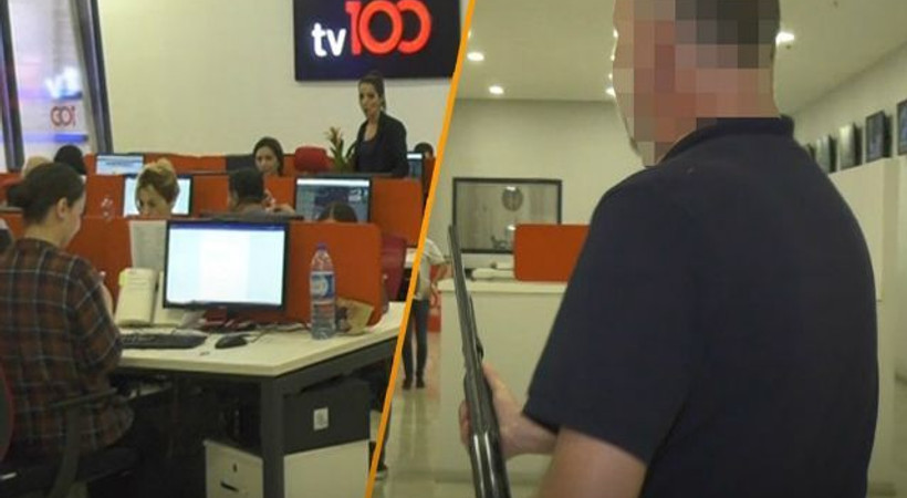 tv100'e pompalı tüfekle gelen muhabir kim?