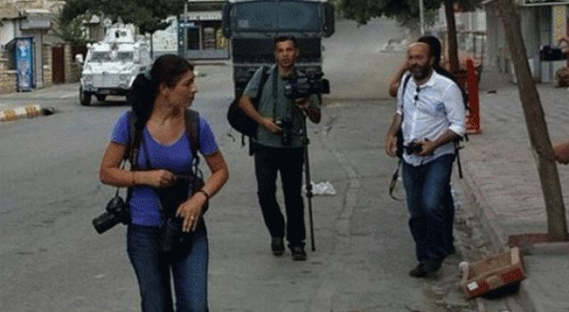 Gazetecilerin çatışmalı bölgelerdeki 'Haber Nöbeti' başladı!
