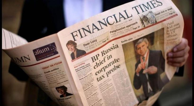 Financial Times'tan Türkiye'yle ilgili önemli iddia!