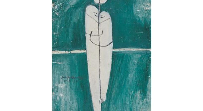 Türkiyeli kadın ressamın tablosu, Dali, Miro ve Chagall'la aynı sergide!